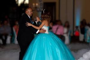 Tucson Wedding and Quince DJ Dance on a Cloud at Quail Creek Country Club
