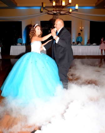 Tucson DJ Service Quinceanera at Quail Creek Country Club Green Valley, AZDance on a cloud