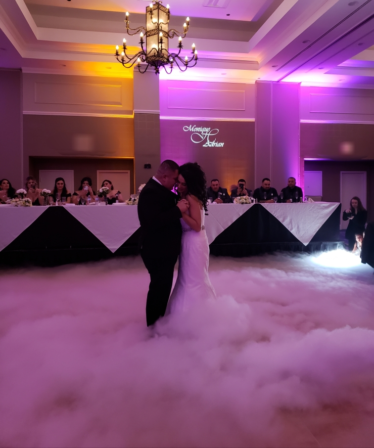 tucson wedding dj first dance on a cloud