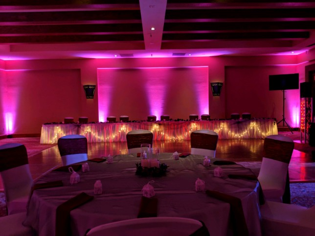 Wedding Ideas Uplighting